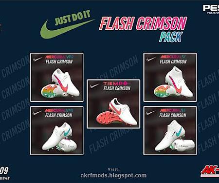 PES 2017 Nike Flash Crimson Pack Boots