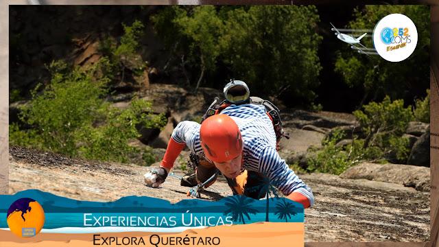Escapate  a una clínica de Escalada en Querétaro