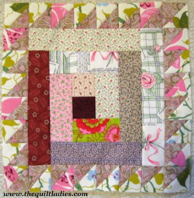 Log Cabin Star Quilt Pattern Tutorial