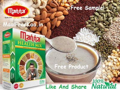 Free Sample Manna Health Mix