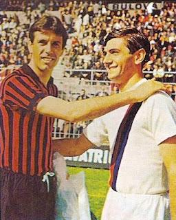 Con Cesare Maldini.