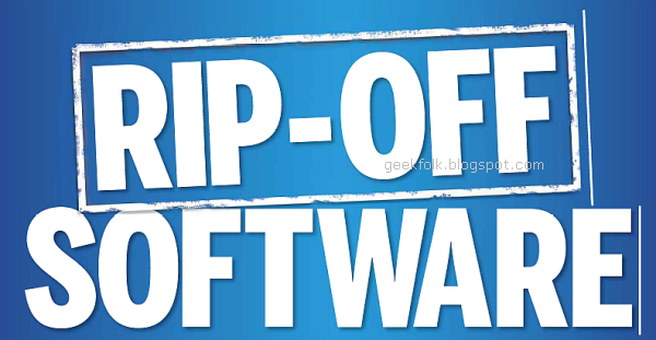 Rip-Off Software You Must Never Use