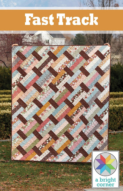 Fast Track quilt pattern by Andy Knowlton - A Bright Corner