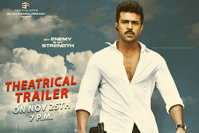 Dhruva Theatrical Trailer Releasing Tommorow