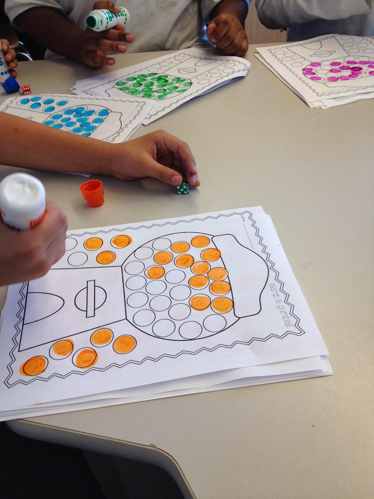 Autism Tank Math With Bingo Dabbers
