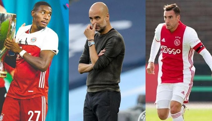 Man City Transfer News: Guardiola Could Target Alaba Or Tagliafico To Solve LB Woes
