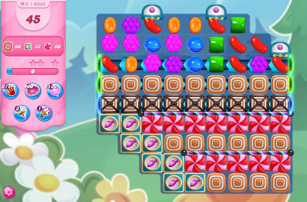 Candy Crush Saga level 9322