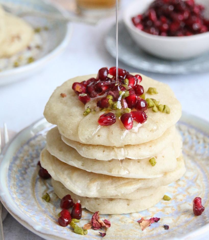 Baghrir - marrokkanische Pfannkuchen