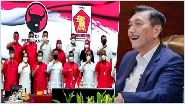 PDIP Sedang Mengikat Gerindra untuk Kurangi Dominasi Luhut