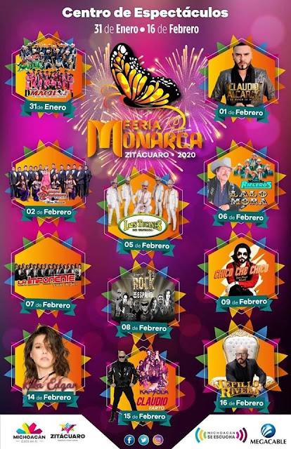 programa feria monarca 2020