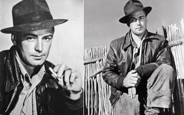Alan Ladd in China influenced Indiana Jones