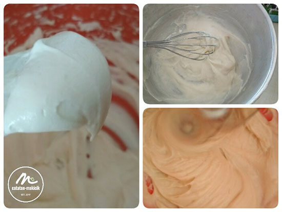 step by step membuat cheese frosting sendiri