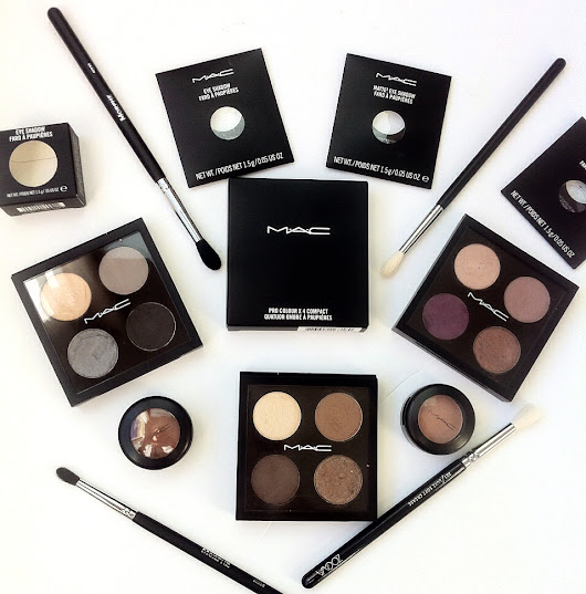 How to Build Your Own MAC Palette - Mac Eyeshadows For Brown Eyes