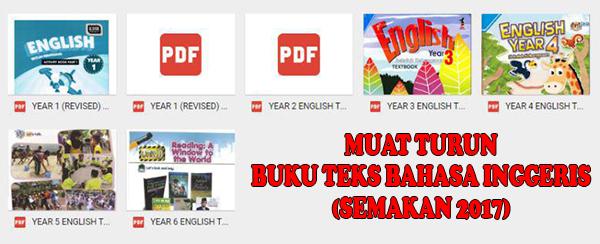 Muat Turun Buku Teks Bahasa Inggeris (Semakan 2017