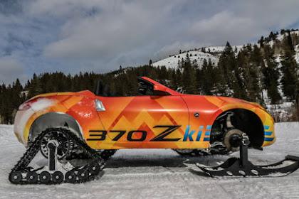 Nissan 370Zki Speedy Turn Audit   Snow, ice and a fierceness of thunder