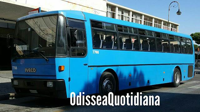 Anagnina, si finge dipendente Cotral e tenta di rubare un bus