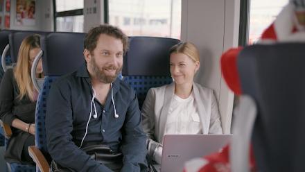 Christian Ulmen und DB Regio | Der witzige 'Das Leben ist zu kurz für Vorurteile' Werbeclip