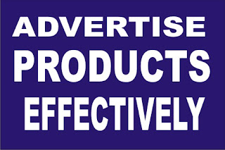 advertise products effectively
