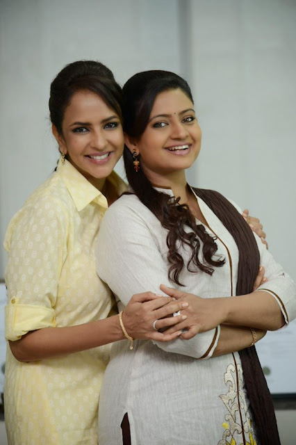 Actress Indraja Latest Photos At ShathamanamBhavati Movie SuccessMeet
