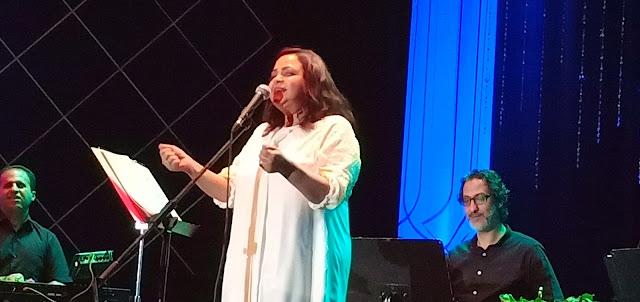 الفنانة حنان ماضي تتألق في حفل دار الأوبرا المصرية