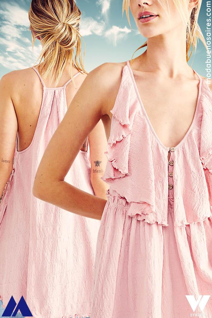 blusa de moda 2022 verano