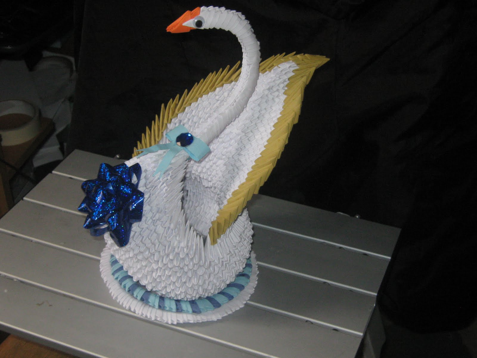 3d Origami Swan Heart Loading Diagram Http Jewellia7777blogspotcom 2013 01