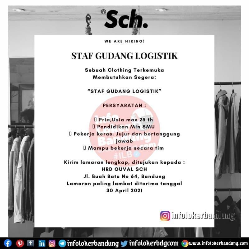 Lowongan Kerja Staff Gudang Logistic Sch Bandung April 2021