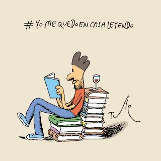 Yo me quedo en casa leyendo ¿Quién más?