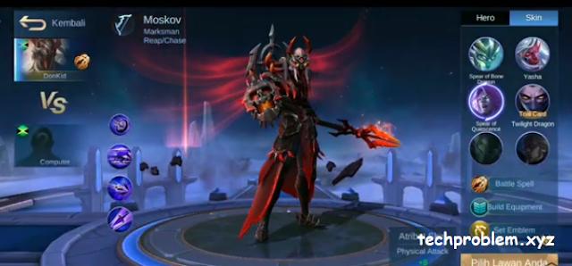 Skin Epic Moskov Blood Spear