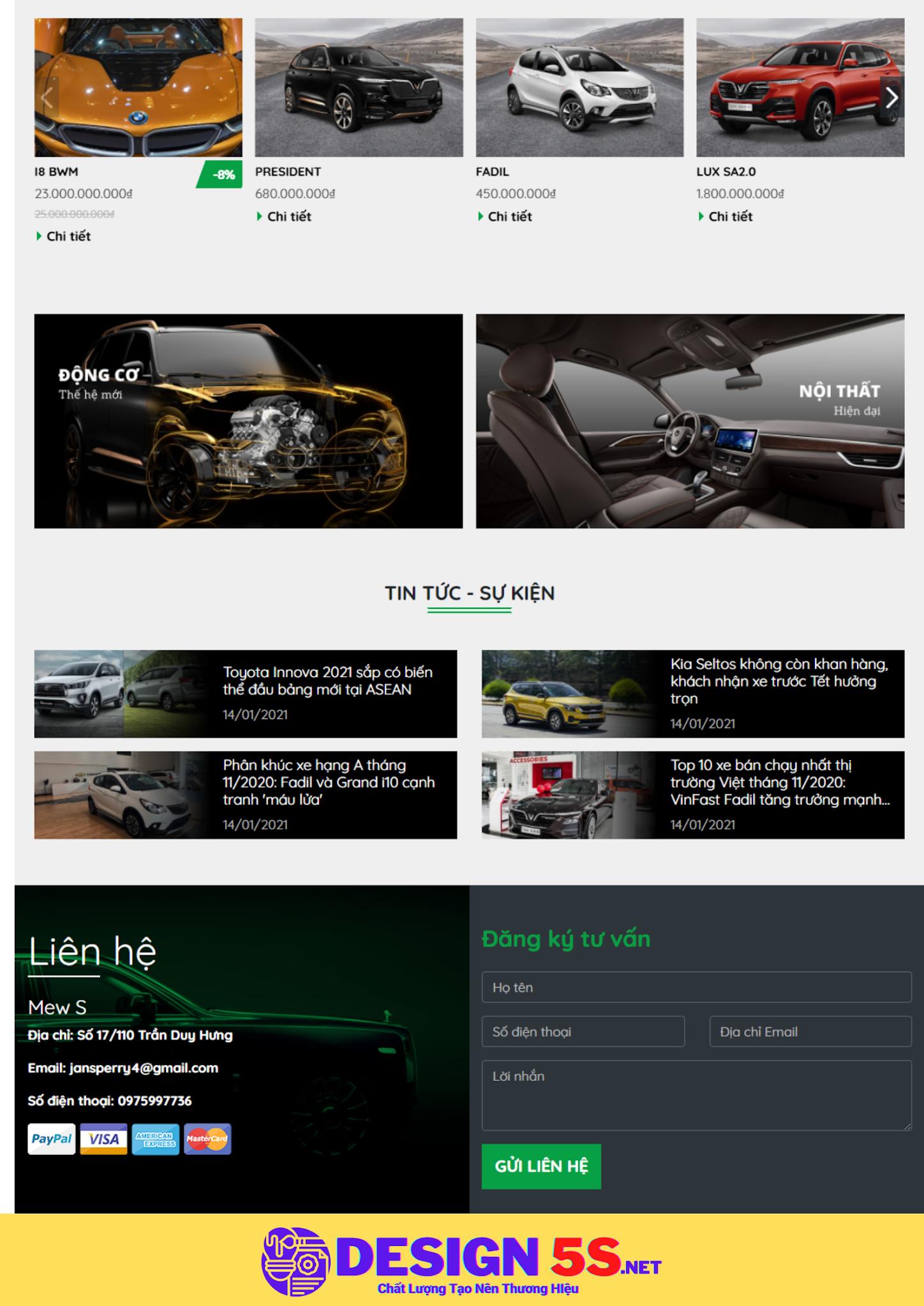 Theme blogspot bán và cho thuê xe ô tô, VSM14 - Ảnh 2