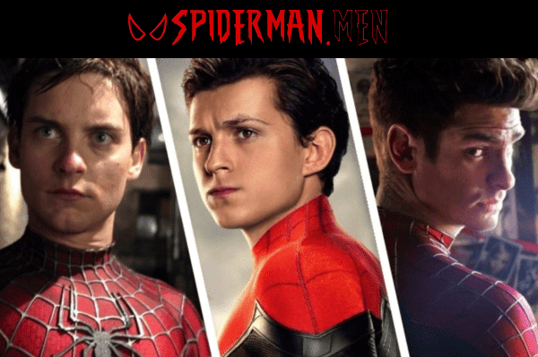 Los tres Spiderman