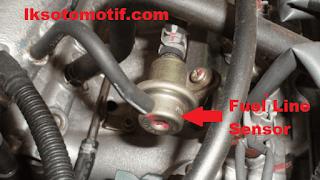 sensor tekanan aliran bahan bakar