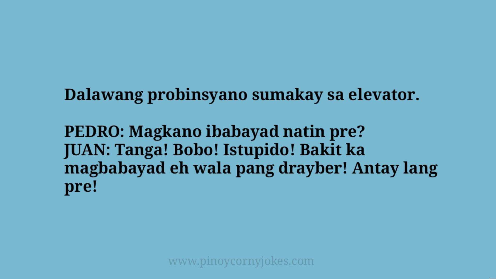 probisyano jokes tanga ph