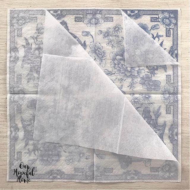 layered napkin