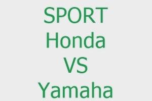 Penjual Sport Honda dan Yamaha beda tipis