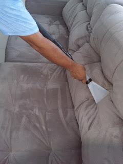 limpeza sofá
