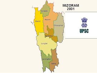 MIZORAM ATANGA UPSC EXAM KAN TLIN DAN 1985-2017
