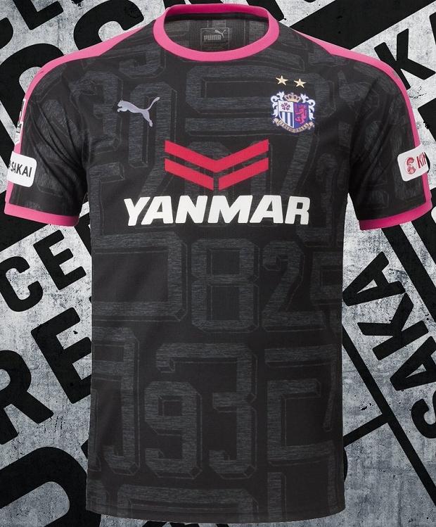 Puma lança nova terceira camisa do Cerezo Osaka - Show de Camisas fc31143b100c2