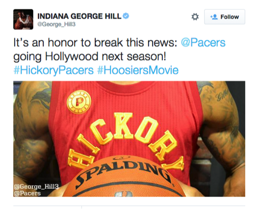 Free Kittens Movie Guide: INDIANA PACERS to Wear 'Hickory