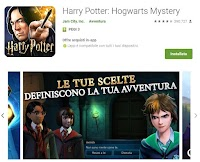 Il gioco di Harry Potter per Android e iPhone nella scuola di magia
