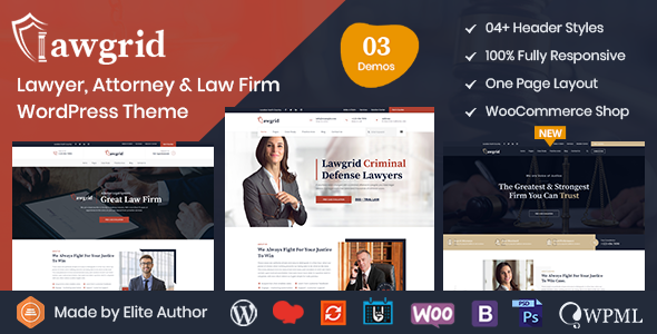 Best Lawyer & Attorney WordPress Theme