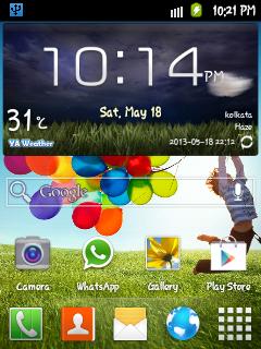 APP] Galaxy S3 & HTC Weather Widgets For Galaxy Y ~ MobTechWaY