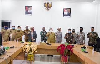 PJS Bupati Labuhanbatu Silaturahmi Bersama Pimpinan Forkopimda