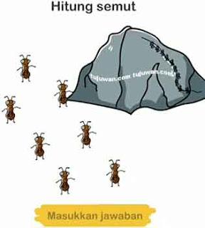 Hitunglah semut-semut pada brain out