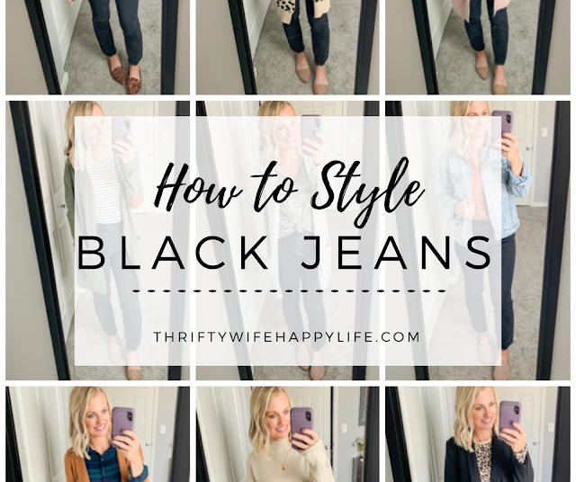 How to style black jeans #blackjeans