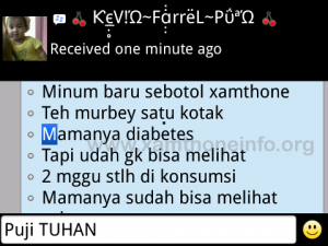 Testimoni manfaat xamthone plus