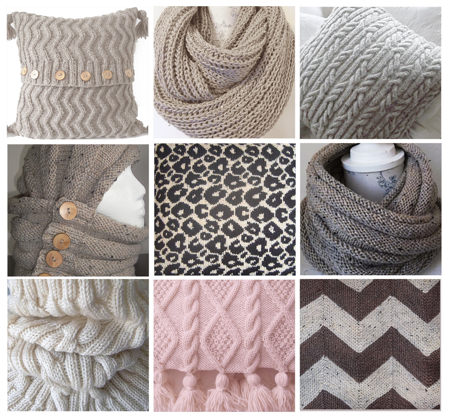 Knitting Patterns For Cushions And Throws : Knitting Patterns. Trending Cushions, Cowls and Throws.
