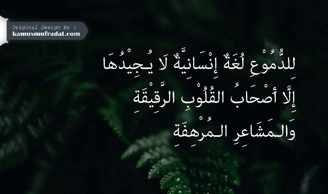 gambar kata kata bahasa arab sedih