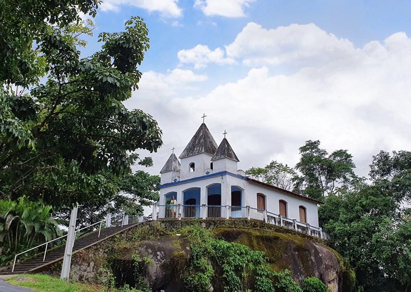 Igreja da Penha, caminho do ouro Paraty-Cunha