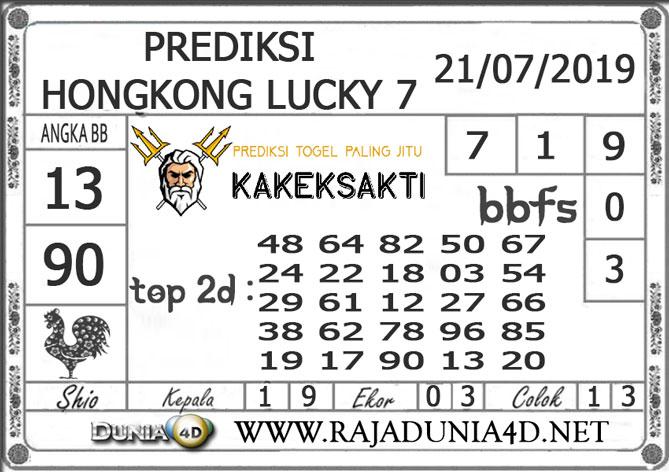 "Prediksi Togel ""HONGKONG LUCKY7"" DUNIA4D 21 JULI 2019"